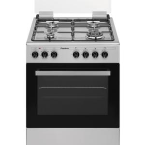 """תנור משולב כיריים גז 60 ס""""מ פירלס דגם PR-6006 IX"""