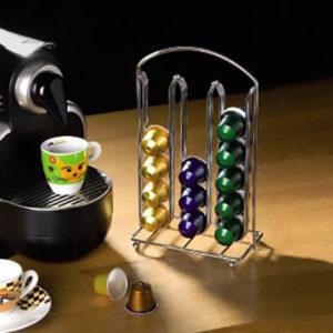 מתקן אחסון לקפסולות קפה