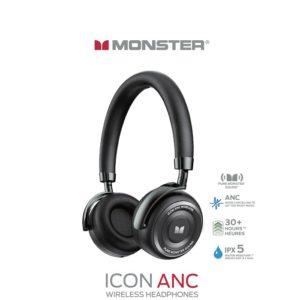 אוזניות סטריאו MONSTER ICON ANC