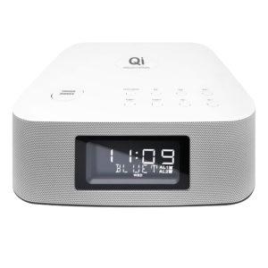 מערכת סטריאו Hi-Fi עם משטח טעינה אלחוטי Qi