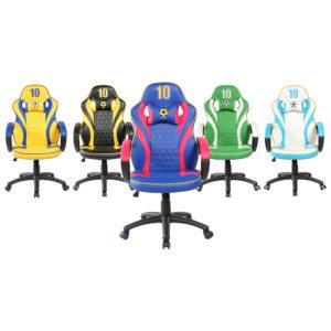 כיסא גיימינג ארגונומי ובטיחותי SPIDER-GOAL