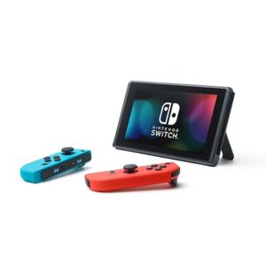 קונסולה נינטנדו סוויץ' Nintendo Switch V2 with Neon Blue & Red Joy‑Con