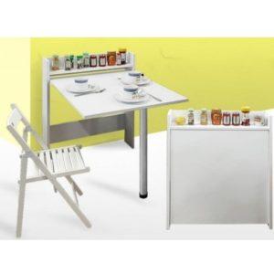 שולחן מתקפל למטבח או חדר שירות